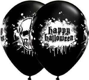 Halloween Latex Balloons | Haunted Skull | Free Delivery